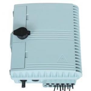 China Optical Fiber Splice Box 12 Cores SC Fiber Optic Patch Panel Box on sale