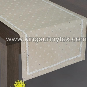 China Table Cover Lace Printing Table Cover For Home Application on sale
