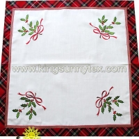 Table Cloths 2018 Christmas Scotland Series Design-6