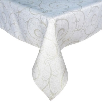 China Table Cloths 100% Polyester Decorative Jacquard Tablecloth on sale