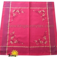 Table Cloths Design-1 Of Lurex Fabric