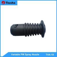 Variable pw spray nozzle