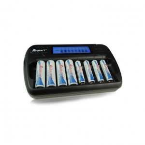 China 8 Slot LCD Charger for Ni-MH AA-AAA Battery on sale