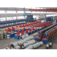 China Steel Wire Hot Dip Galvanizing Production line on sale