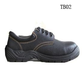 China Good quality leather steel toe and midsole CE work safety shoes on sale
