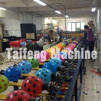 Decoration balloon printing press