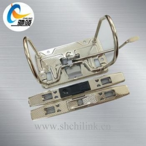 China Electroplating nickle metal office file clip Lever Arch Mechanism on sale