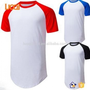China Hot Sales Extra Long Men's Short Sleeve White T Shirt Men on sale