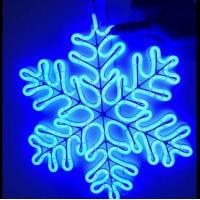 China 2D LED MOTIF LIGHT SERIES Blue snowflake on sale