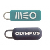 Embossed Logo Suitcase Zipper Pull Replacement