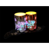 LED Candle Product name: EL Lamp candle in glass