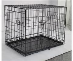 China Wire Metal Dog Crate on sale