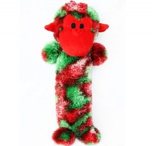 China pet products trade name: Christmas long stick monkey on sale