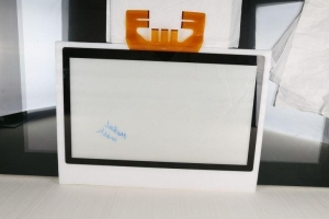 China Metal Mesh Touch Screen 86inch P-Capacitive Touch Glass on sale