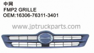 China China manufacturer supply grille 16306-76311-3401 for hino 500 Series on sale
