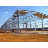 Steel structure construction  Outdoor steel shed design