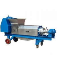 high quality automatic double screw ginger juice extractor for sale