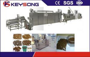 China Dry Pet Food Pellet Making Machine Dog Food Extrusion Machine on sale