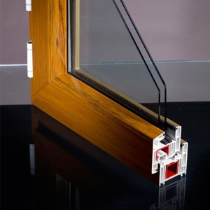 China Sliding UPVC Profiles UPVC Plastic Window Profile on sale