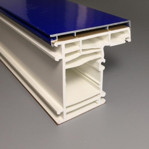 China Casement UPVC Profiles 70mm Casement Upvc Profiles on sale