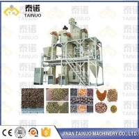 Pet Food Production Line Practical Poultry Food Pellet Extruding Machine