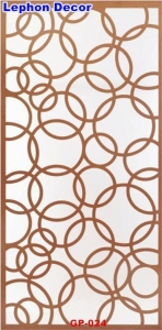 China Decorative Grille Panels MDF Grille Screen Panels on sale