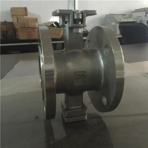 China Explosion-proof V-type semi-ball valve on sale