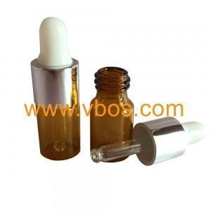 China 5ml Amber Bottle with Alu Cap on sale