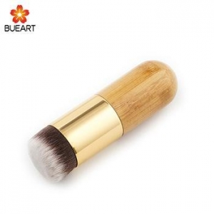 China 2018 Foundation Brush White and Brown Makeup Brush Fast Make up Brushes on sale