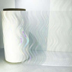 China Environmentally Friendly Transparency Holographic Laminate Film on sale