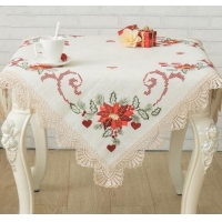 Blended Fabric Table Cloth 100% Linen Table Cloth