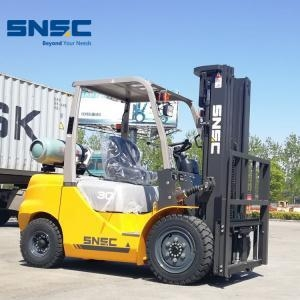 China Forklift SNSC Montacargas 3Ton Propane Forklift on sale