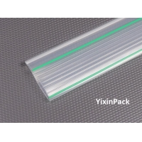 Flip-in Zip tube with green stripes