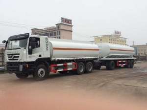 China Tractor Head Home Oil Tanker Full Trailer on sale