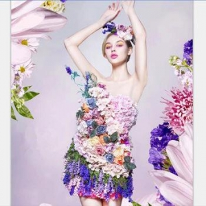 China women carnaval adult costume Halloween photographic studio wedding Flower Fairy dress on sale