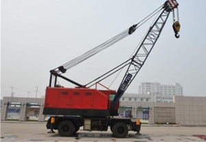 China Port Crane Rubber Tyred Harbour Crane on sale