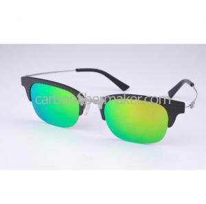 China Carbon Fiber Sunglasses Polarized Sun Glasses Women Carbon Fiber Sun Shade Glasses ODM on sale