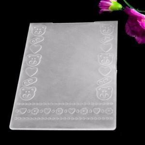 China Embossing Folder Scrapbook Embossed Folder on sale