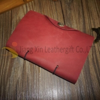 China Leather Notebook Wholesale Personalised Leather Notebook Gift with Button on sale
