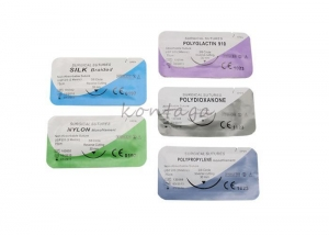 China 00405 surgical suture with needle on sale