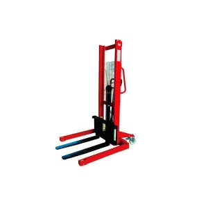 China ELECTRIC STACKER MANUAL STRADDLE STACKER on sale