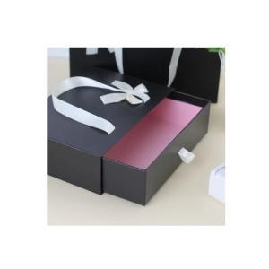 China Black Drawer Handle Paper Gift Box on sale