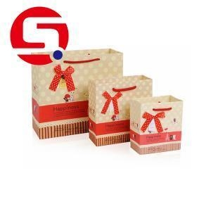 China Xmas paper bags for food packaging on sale