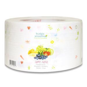 China Custom Adhesive Fruit Food Bottle Waterproof PVC Label on sale