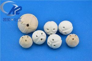 China Porous Ceramic Ball Ceramic Tower Packing on sale