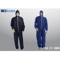 Heavy duty disposable coveralls for men contamination control and serious infections