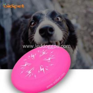 China LED Dog Frisbee Outdoor Led Light-Up Dog Toys Flying Disc Frisbee on sale