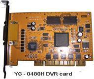 China DVR Card H.264 Hardware Compression DVR Capture Card supplier