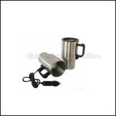 China Promotion car travel stainless steel Electrothermal cup mug water drink cup gift on sale