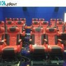China Electric / Pneumatic / Hydraulic 4d Theater Cinema system on sale on sale